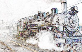 İlk Kez Trene Binen Adam Hikayesi